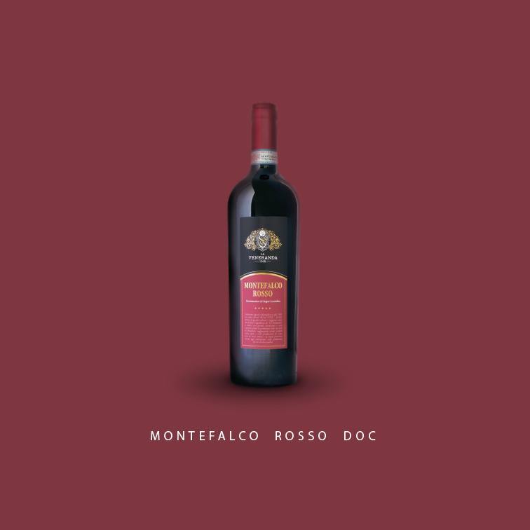 vino rosso di Montefalco Cantina La Veneranda